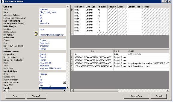 CSV to database