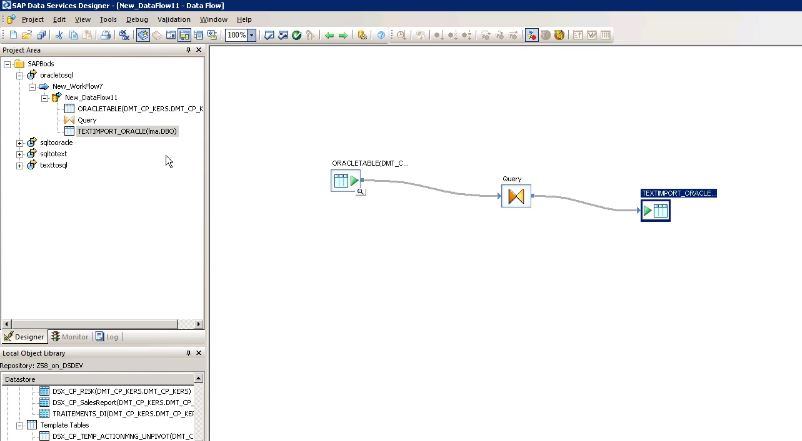 Database to SQL