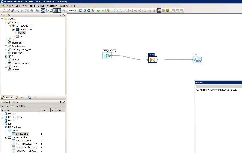 SQL to XML